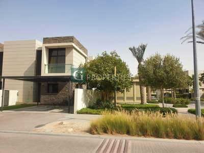 3 Bedroom Villa for Sale in DAMAC Hills (Akoya by DAMAC), Dubai - First unit    Single Row 3 bed   Fully Furnished  by Paramount   Available Now
