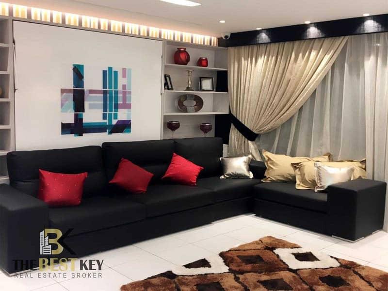 شقة في برج ميراكلز من دانوب أرجان 1 غرف 690000 درهم - 5139063