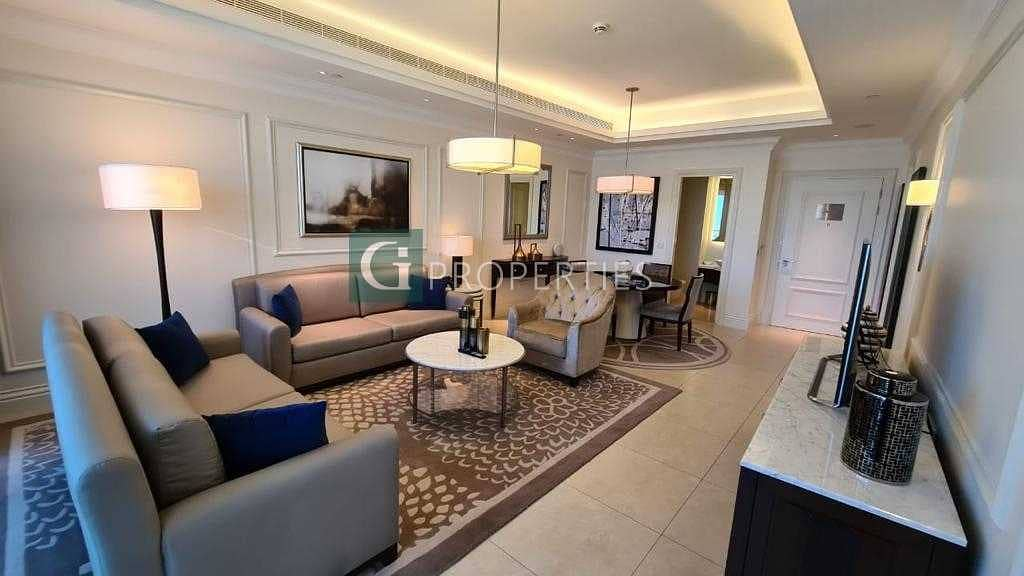 2 Middle Floor | Furnished | 1 Bed | Luxury