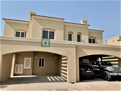 3 Bedroom Townhouse for Rent in Serena, Dubai - 3BR TYPE A|VACANT|PRIME PLOT|SEMI DETACHED VILLA