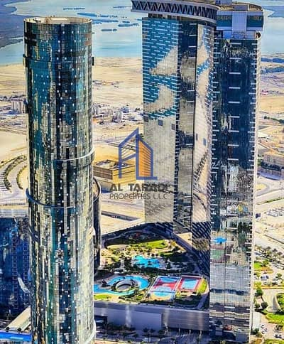 2 Bedroom Flat for Rent in Al Reem Island, Abu Dhabi - Excellent 2 B/R  with Outstanding View in Sun Tower