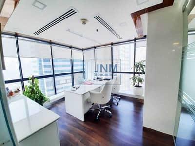 مکتب  للبيع في أبراج بحيرات الجميرا، دبي - Investor's Deal! Corner Unit| Fitted w/ Partitions