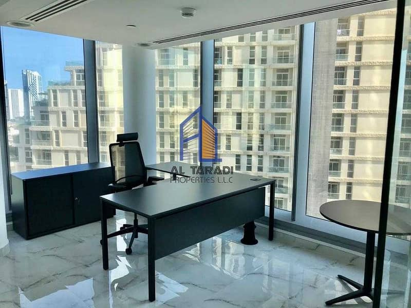 Fully Furnished Office with 3 Parking /Heavenly Views