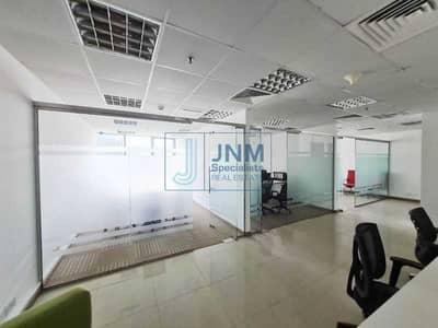 مکتب  للايجار في أبراج بحيرات الجميرا، دبي - Full Lake View   Near Metro   Glass Partitioned