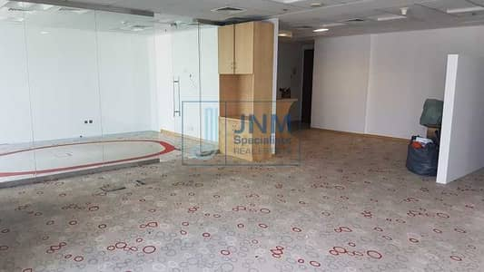 Office for Rent in Jumeirah Lake Towers (JLT), Dubai - Fitted Office in Saba 1 | Low Floor | SZR View