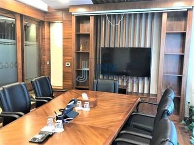 مکتب  للايجار في أبراج بحيرات الجميرا، دبي - Next to Metro   Semi-Furnished Office   Low Floor