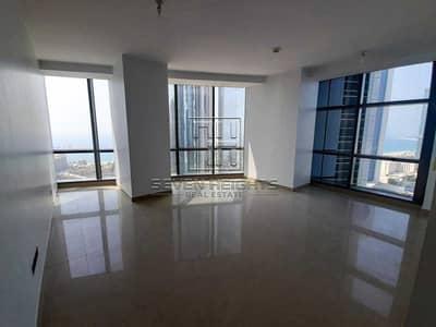 شقة 1 غرفة نوم للايجار في شارع الكورنيش، أبوظبي - Luxury 1BR |High Floor With Amazing Sea View And Emirates Palace .