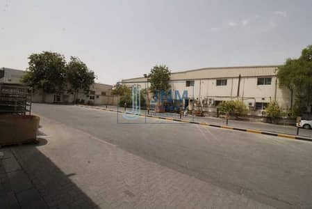 Plot for Rent in Al Quoz, Dubai - Commercial Land with Factory | Including Electricity