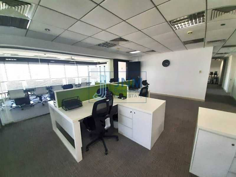 High Floor   Fitted Office   Meadows View   Call us !