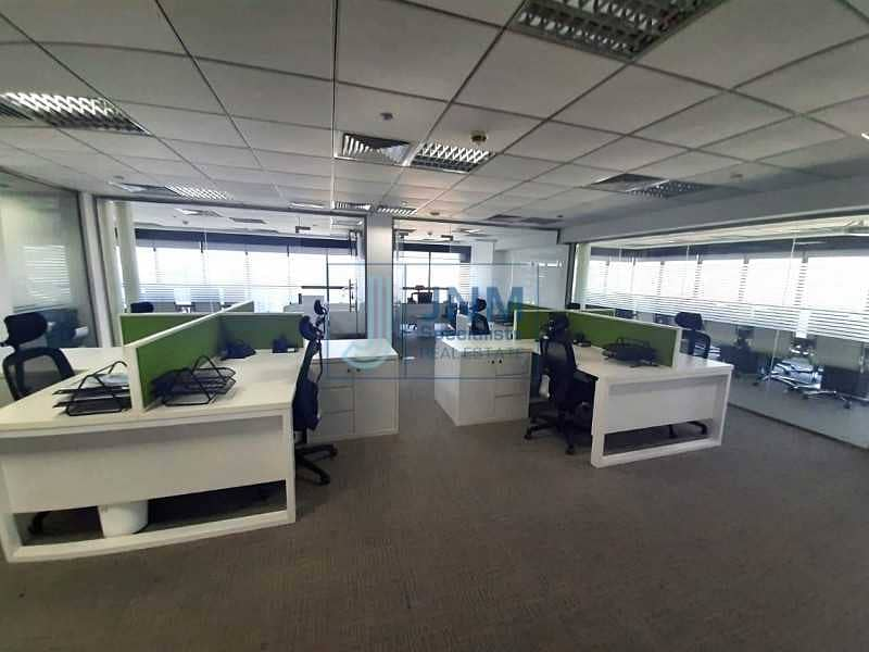 2 High Floor   Fitted Office   Meadows View   Call us !