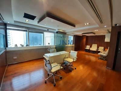 مکتب  للبيع في أبراج بحيرات الجميرا، دبي - Higher Floor | Fitted and Partitioned Office Space