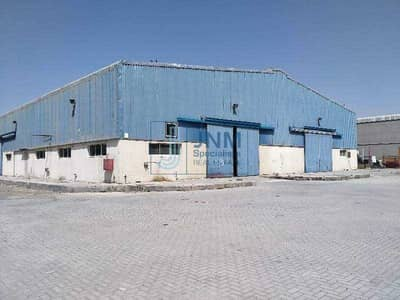 Plot for Rent in Al Quoz, Dubai - warehouse with commercial Land for Rent in al quoz
