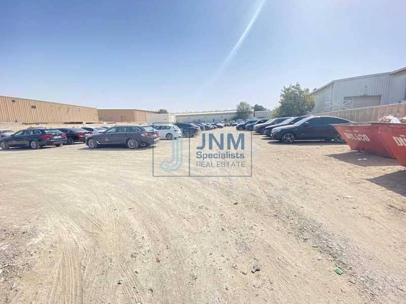 2 Commercial Land | Al Qouz Industrial 4 | Rented