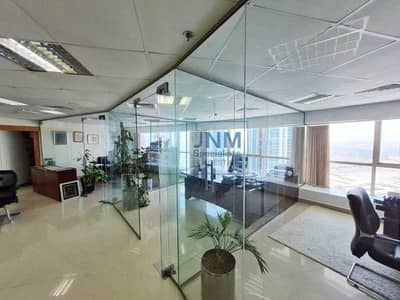 Office for Sale in Jumeirah Lake Towers (JLT), Dubai - Excellent Furnished Office On High floor