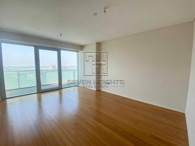 2 3 Payment  Fabulous 3BR+Maid  Big Balcony With Full Sea View .