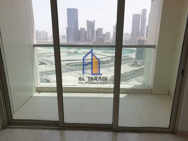 Spacious & biggest layout with balcony in marina square