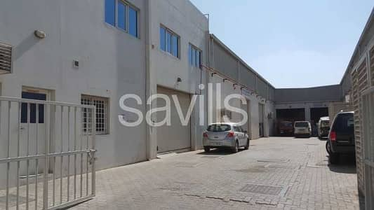 Office for Rent in Industrial Area, Sharjah - Semi fitted office space in Industrial Area 15