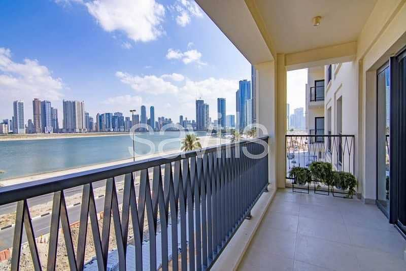 Brand New Unit with 2 Balconies & Parking
