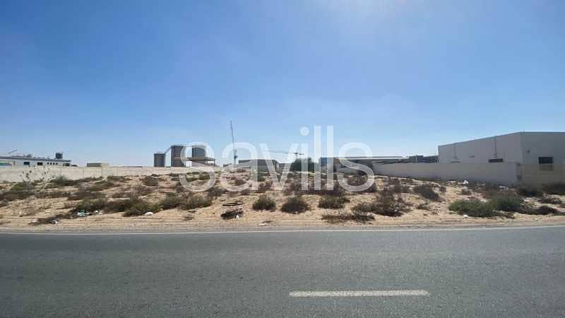Land Nearby Main Street in Al Nouf