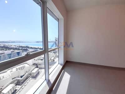 فلیٹ 2 غرفة نوم للايجار في الخالدية، أبوظبي - Hot Offer No Commission Brand New Sea View  2BHk+maid room  with Balcony   and for extra parking also can apply
