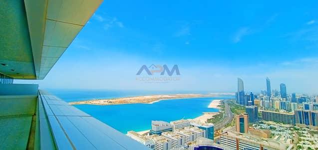 2 Bedroom Apartment for Rent in Al Markaziya, Abu Dhabi - Spacious 2 BHK | Zero Commission | Full Sea View