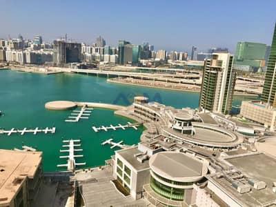 2 Bedroom Flat for Rent in Al Reem Island, Abu Dhabi - Full Sea View! 2 Master bedroom apartment!All Amenities