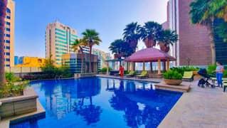 2 Bed luxurious apartment, Capital Plaza, Corniche area