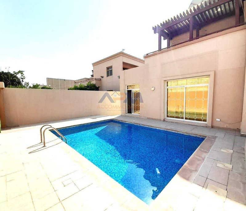 5-Bed Rooms villa in Al Raha Golf Gardens. An awesome kind of villa