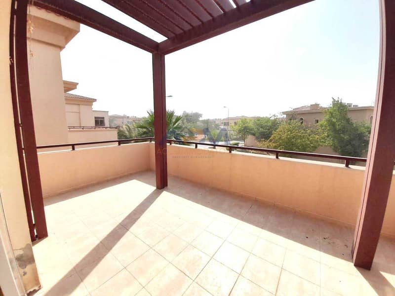 2 5-Bed Rooms villa in Al Raha Golf Gardens. An awesome kind of villa