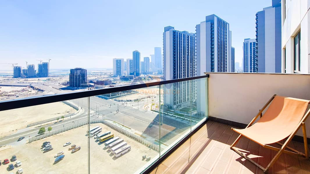 NEW ! Fully Furnished ! 2BHK + Balcony With Excellent Finishing.