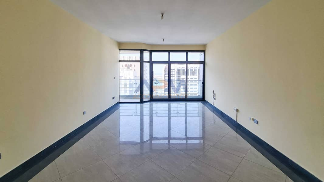 2 Spacious Size 3BHK With Facilities  + Maid + Balcony.