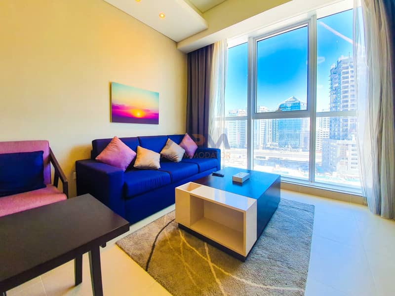 2 Brand New Fully Furnished Studio Apartment with Utilities.