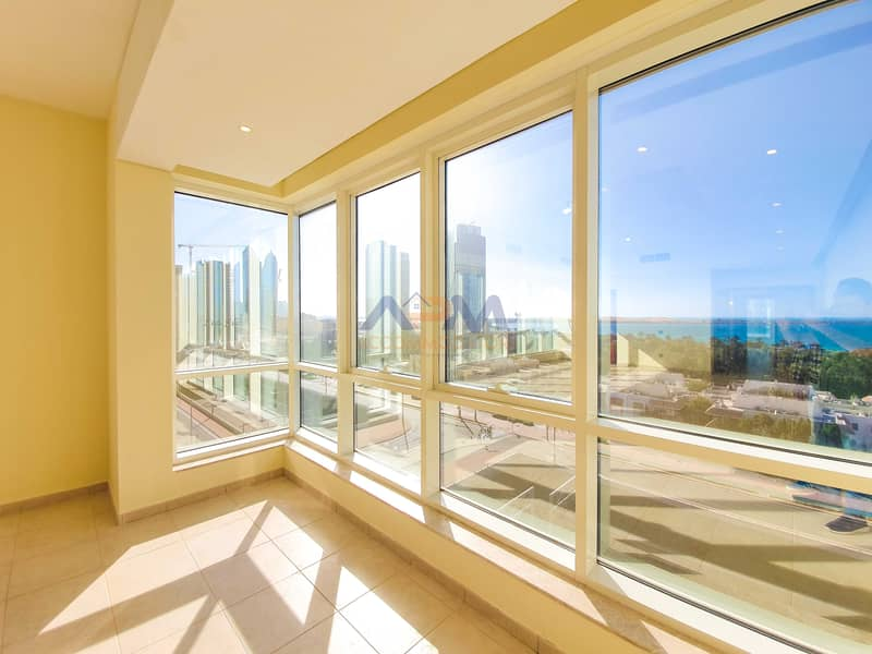 2 Sea View ! Huge 3 Bed Apartment with Maid.