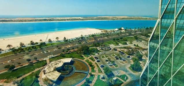فلیٹ 1 غرفة نوم للايجار في الحصن، أبوظبي - Stunning 1BHK   Full Sea View