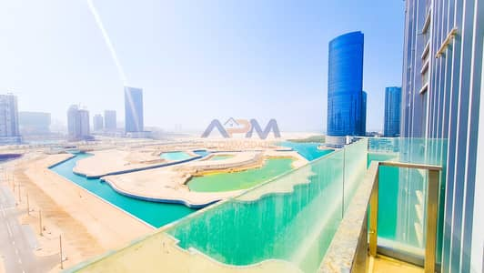 2 Bedroom Apartment for Rent in Al Reem Island, Abu Dhabi - EXCLUSIVE ! Sea View 2 Bed Apartment + Balcony + Covered Parking.