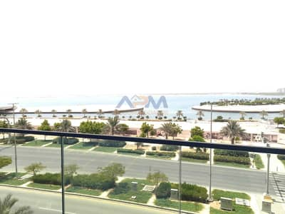 1 Bedroom Flat for Rent in Al Raha Beach, Abu Dhabi - Brand new 1BHK  with full sea view and canal view