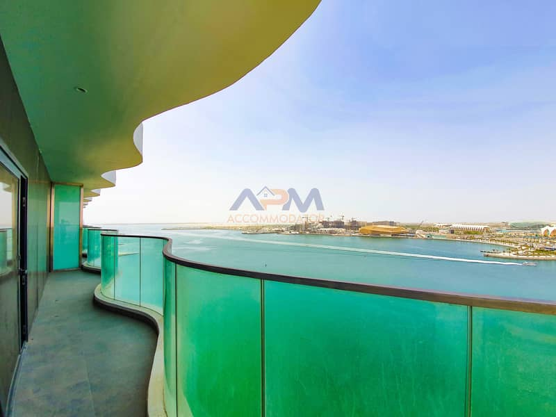 FULL SEA VIEW ! Spacious 3 Bed + Maid + Balcony.