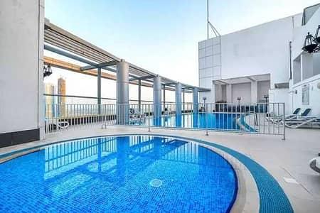 استوديو  للايجار في وسط مدينة دبي، دبي - Spacious Studio Close to Burj Khalifa With Big Balcony