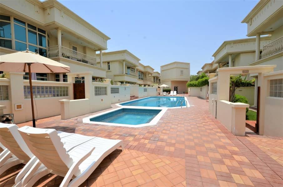 Fabulous family compound villa shared Pool