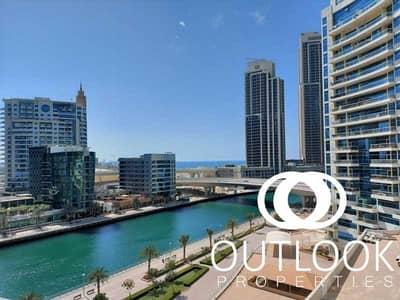 2 Bedroom Apartment for Rent in Dubai Marina, Dubai - Spacious 2Br   Chiller & Maintenance Free   Vacant