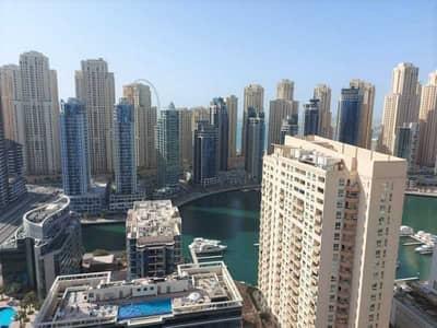 2 Bedroom Flat for Rent in Dubai Marina, Dubai - Vacant 2br + Balcony | Marina View | Chiller Free!