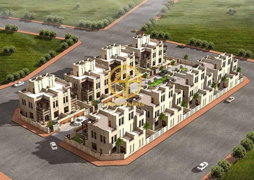 24 High Income 4 villas compound private enterence Garden