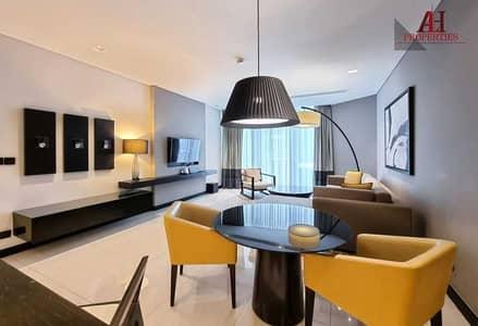 شقة فندقية 2 غرفة نوم للايجار في شارع الشيخ زايد، دبي - High quality  Fully Furnished & Serviced 5* luxury