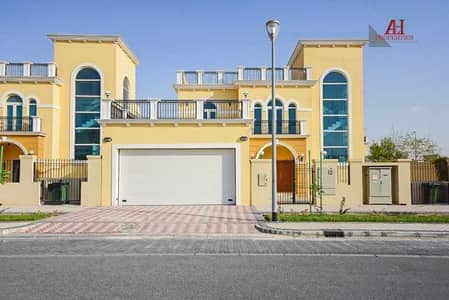 4 Bedroom Villa for Rent in Jumeirah Park, Dubai - Single Row | Vacant | Corner | Large plot size