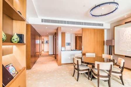 شقة فندقية 3 غرف نوم للايجار في دبي فيستيفال سيتي، دبي - Fully Furnished | Bills are included| Creek view