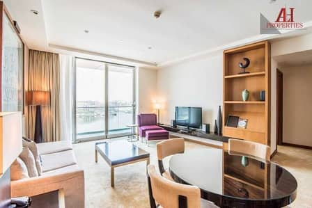 2 Bedroom Hotel Apartment for Rent in Dubai Festival City, Dubai - Exclusive | Serviced| Bills included |City view