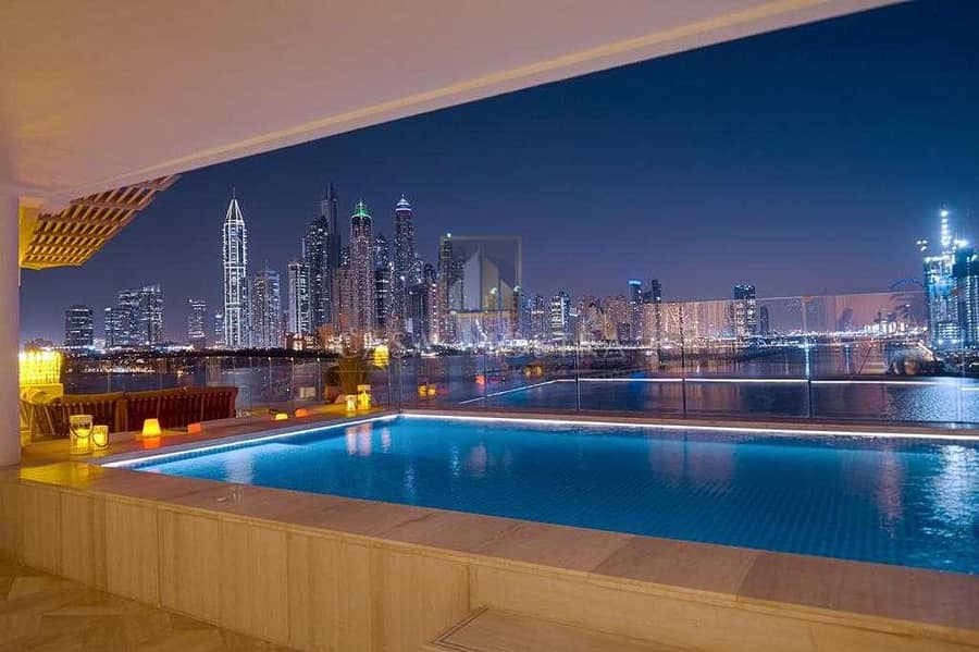 2 Fully Upgraded Furnished Penthouse Full Skyline and Sea view