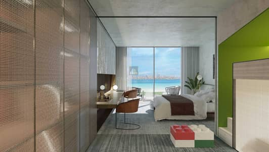 شقة 1 غرفة نوم للبيع في جزر العالم، دبي - Luxury Big Suite 1BR Pool View and Marina View