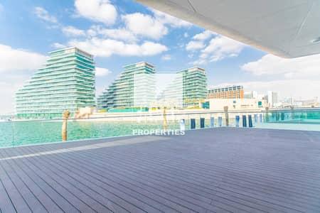 تاون هاوس 3 غرف نوم للبيع في شاطئ الراحة، أبوظبي - Full Sea view 3BR Townhouse Huge Terrace plus Parking