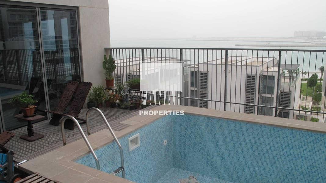 Full Sea View 6BR Podium Villa with Pool